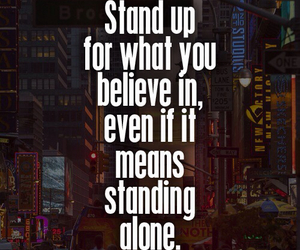 quotes, alone, and believe image