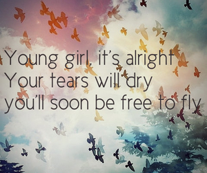 fly, young, and free image