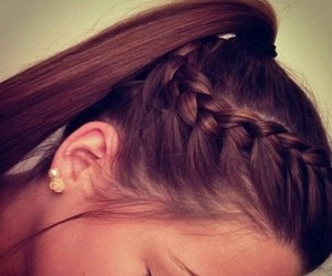 cool, love, and hairstyle image