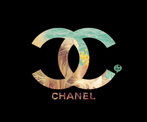 chanel, wallpaper, and black image