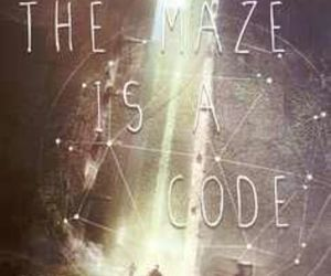 the maze runner, book, and code image