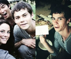 the maze runner and thomas image