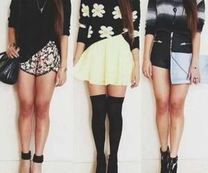 black, chic, and outfits image