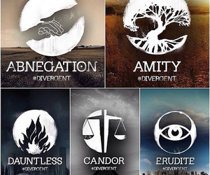 divergent, dauntless, and abnegation image