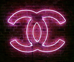 chanel, pink, and light image