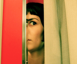 amelie poulain, audrey tautou, and photobooth image