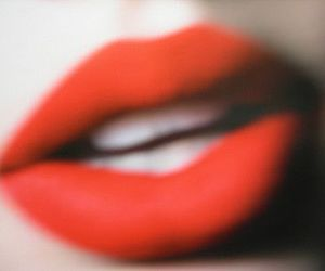 lips, red, and teeth image
