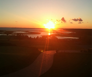 cape cod and sunset image