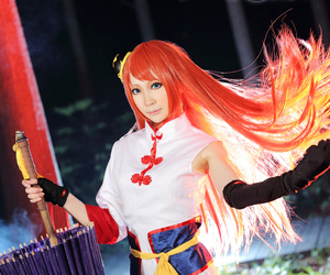 cosplay, gintama, and cosplay girl image