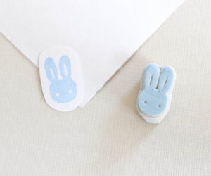 bunny, crafts, and easter image