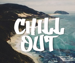 beach, chill out, and chill image