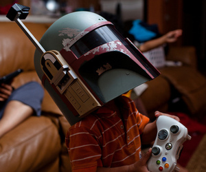 star wars, xbox, and kids image