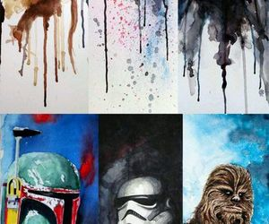star wars, darth vader, and yoda image