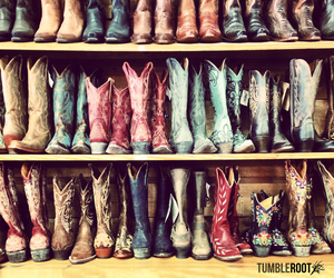 country, cowboy, and cowboy boots image