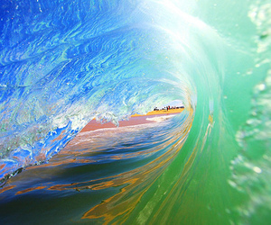 wave, cool, and ocean image
