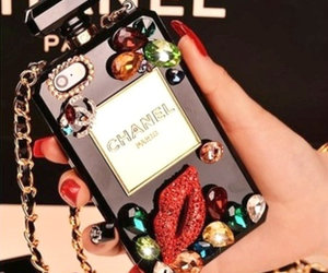 chanel, chanel iphone case, and chanel phone case image