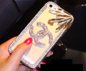 chanel, chanel case, and chanel iphone case image