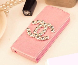 chanel case, bling case, and bling cover image
