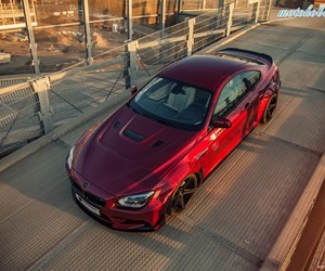 car, red car, and red bmw image