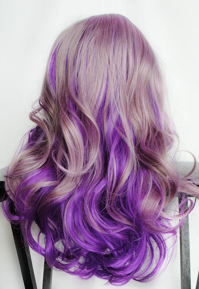 138 Images About Blonde And Purple Hair On We Heart It See More