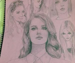 draw, drawing, and marina and the diamonds image