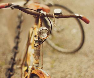 vintage, bike, and bicycle image