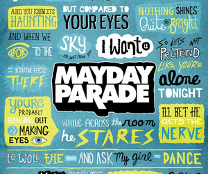 mayday parade, miserable at best, and music image