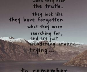 quote, remember, and truth image