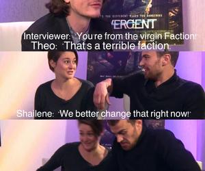 four, Shailene Woodley, and sheo image
