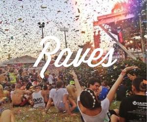 rave, music, and fest life image