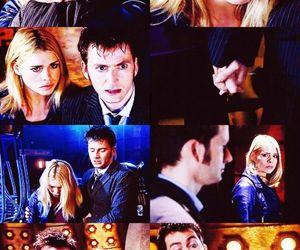 david tennant and rose tyler image