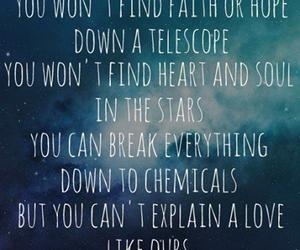 the script, Lyrics, and love image