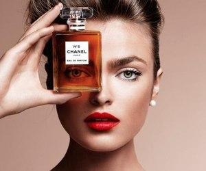 chanel, perfume, and model image