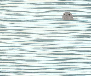sea, seal, and wallpaper image