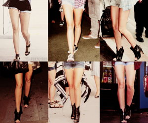 legs, miley cyrus, and shoes image