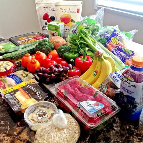 healthy food, love, and fit image