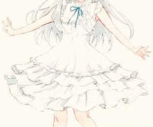 anime, ano hana, and anime girl image