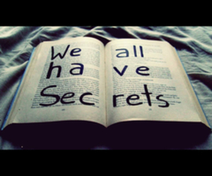 book, secrets, and life image