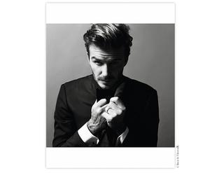 David Beckham, fashion, and photoshoot image