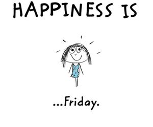 friday, happiness, and happy image