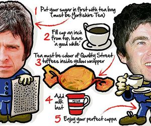 cup, noel gallagher, and oasis image