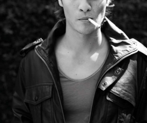 boy, Luke Grimes, and smoking image