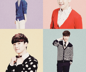 exo, Chen, and lay image