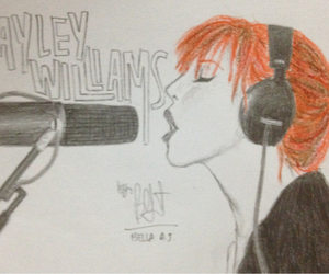 band, singer, and hayley williams image