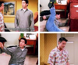 funny, joey tribbiani, and quotes image