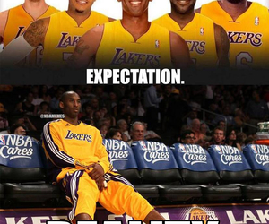 funny pics, kobe bryant, and lakers image