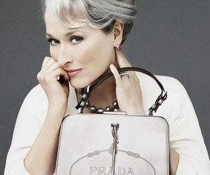 meryl streep and Prada image