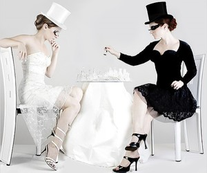 black and white, chess, and black image