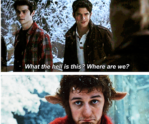 narnia and tyler posey image