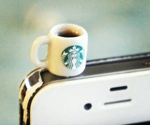 coffe and phone image